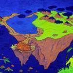 2nd Floating Island – blacklight