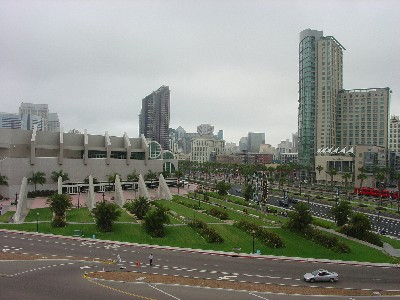 Convention Center – Downtown – Comic Con 2005