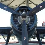 TBM-3E Avenger Propeller View