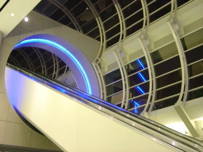 Convention Center Escalator – Comic Con 2004