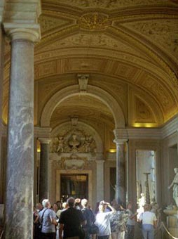 Vatican Gold-inlaid Ceilings