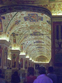 Vatican Painted Ceilings