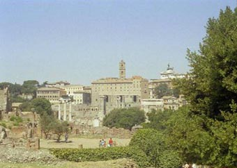 Ancient Rome City Center