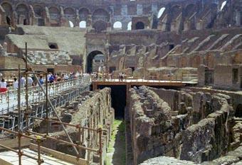 Ancient Rome Coliseum Open Floor