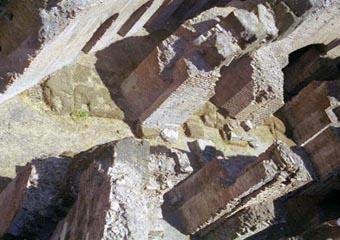 Ancient Rome Coliseum Lower Level