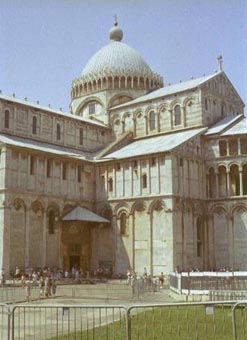 Pisa Cathedral Entrance
