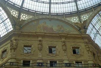 Milan Galleria Painting