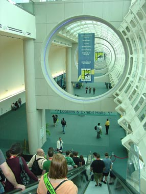 7099 Comic Con Lower Level View