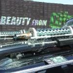 7173 Comic Con Black Beauty Guns