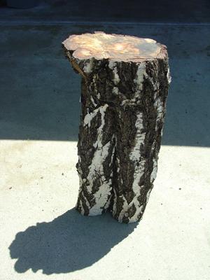 Corner Table Nature Sculpture