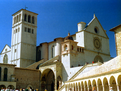 Assisi Cathedral Buildings