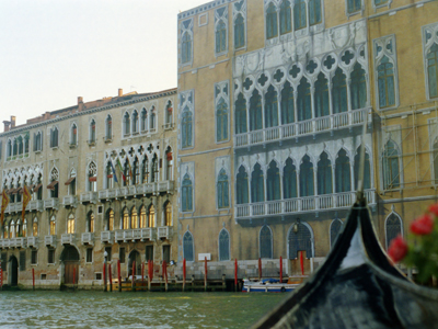 Venice Painted Tarp