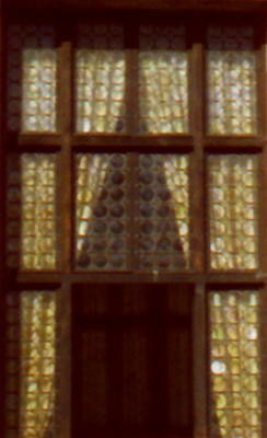 Venice Old Window close-up
