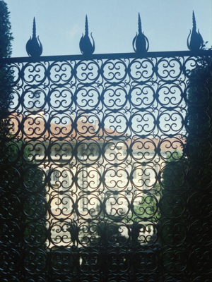 Isola Bella Wrought-Iron Gate