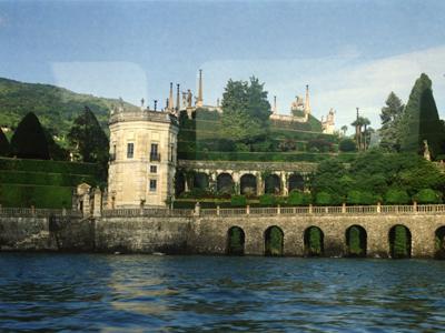 Lake Maggiore Isola Bella From Boat