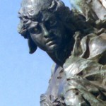 Venice Statue close crop