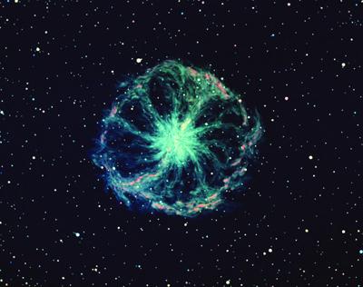 Chariot Wheel Nebula