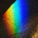 Prism Light on Stone Floor