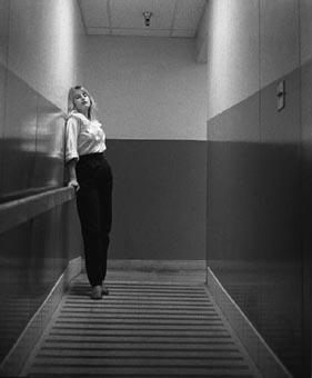 Kathy in Hallway
