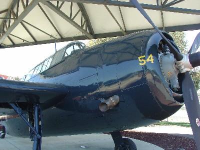 TBM-3E Avenger Right Front-end