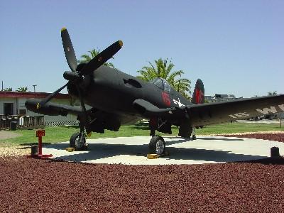 F4U Corsair Front View