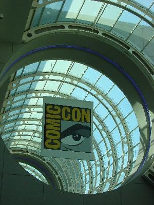 Framed Comic Con Banner – Comic Con 2004