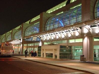 Convention Center Night – Comic Con 2004