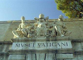 Vatican Entrance Statues