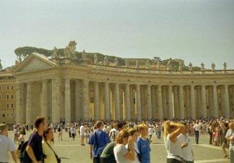 Vatican Peter's Square pan 1