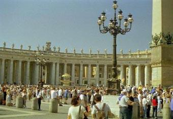 Vatican Peter's Square pan 2