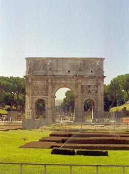 Ancient Rome Arch of Triumph