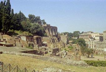Ancient Rome City Center