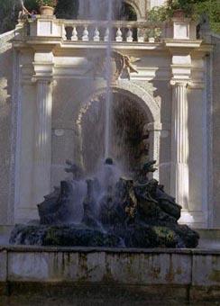 Tivoli Dragon Fountain