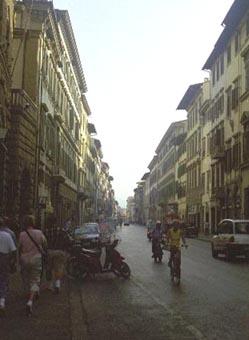 Florence Narrow Street