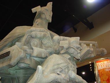 7125 Comic Con Stone Warrior Dudes