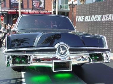7175 Comic Con Black Beauty Tail-end