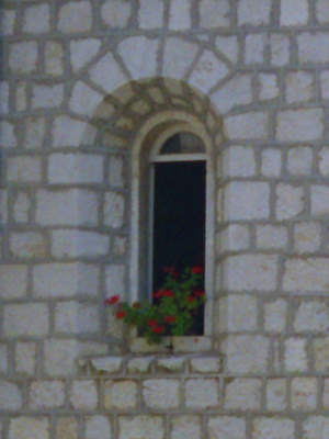 Mt Cassino Courtyard Window