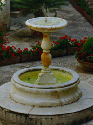 Mt Cassino Garden Fountain