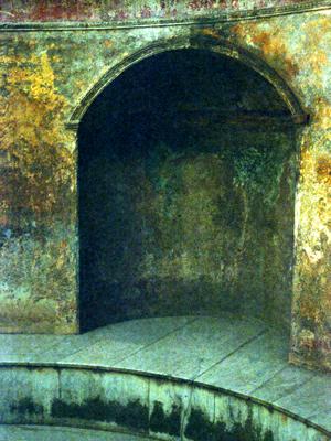 Pompeii Bath Alcove