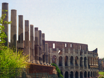 Ancient Rome Back to Coliseum