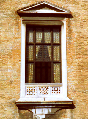 Venice Old Window