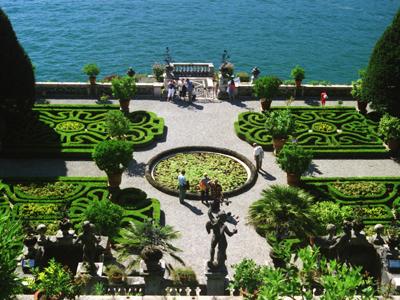 Isola Bella Lower Garden