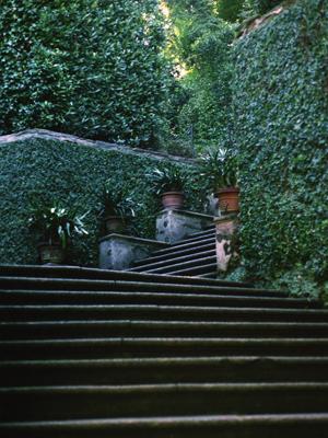 Isola Bella Palace Steps