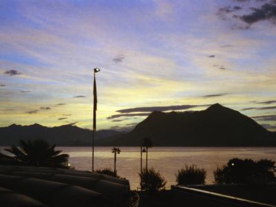 Stresa Lake Maggiore Sunrise