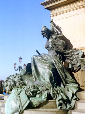 Venice Patron Statue
